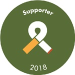 Tobacco free portfolio support badge 2018